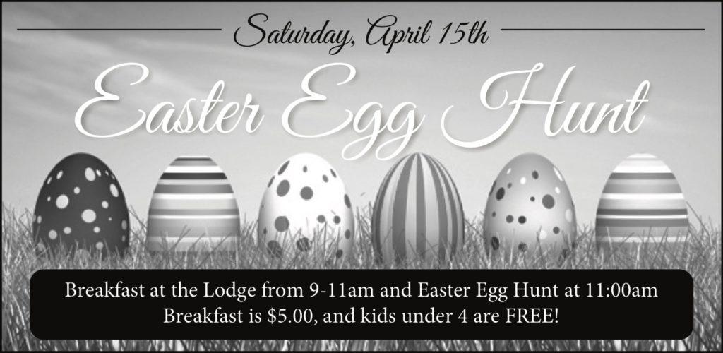 Choctaw Lake Ohio community Easter Egg Hunt 2017