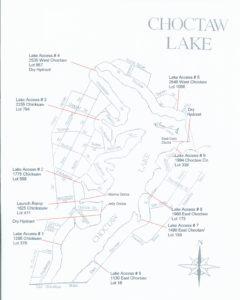 Choctaw Lake Ohio Boat Access 2017