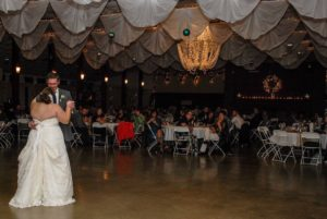 Wedding reception at the lodge at Choctaw Lake Central Ohio