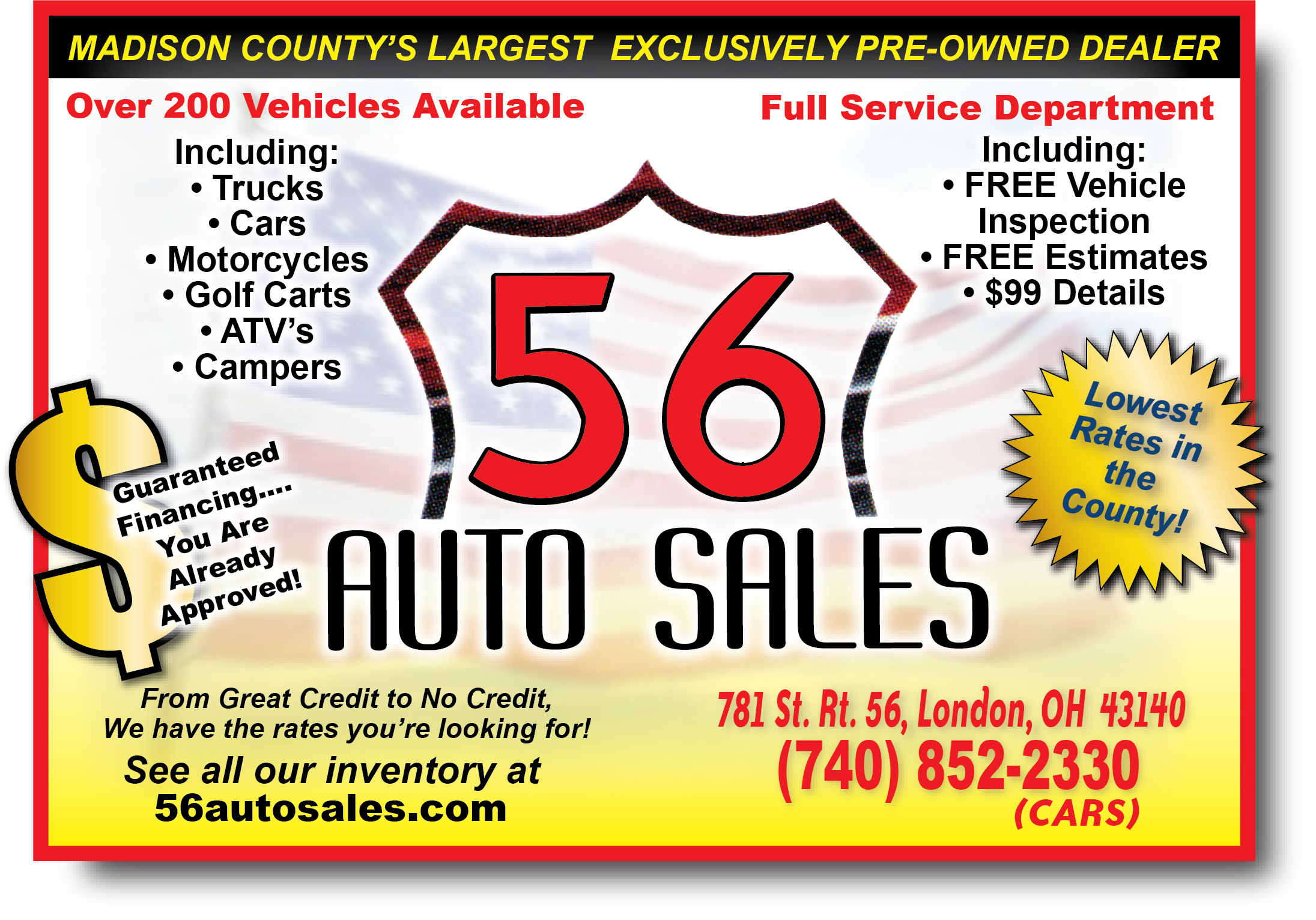 56 Auto Sales Columbus Ohio Car Sales