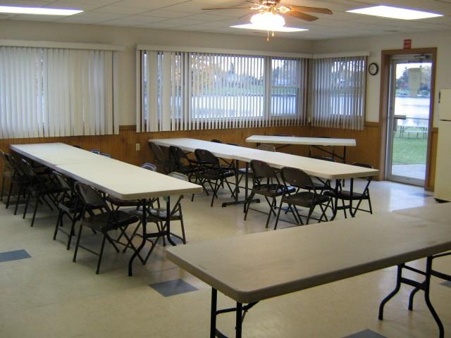 The Arrowhead lodge at Choctaw Lake event venue rental near Columbus and Dayton Ohio.