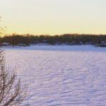 Choctaw Lake Snow Waves
