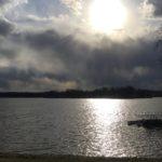 Spring Sunset at Choctaw Lake