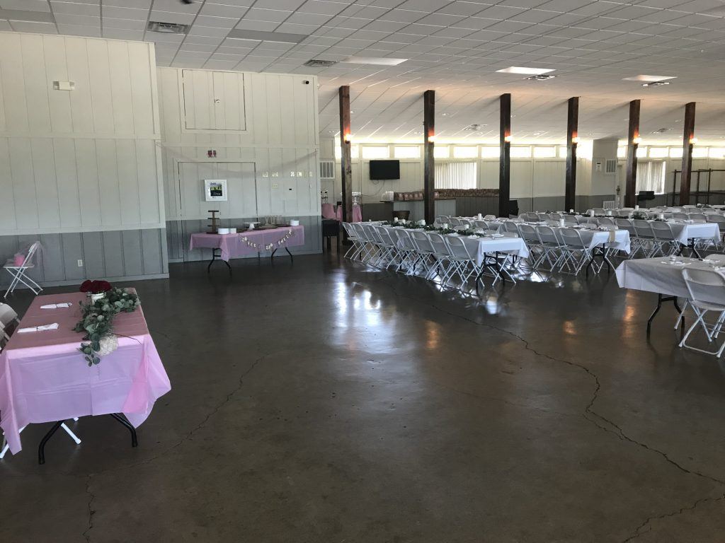 inexpensive Columbus, Ohio area baby shower rental